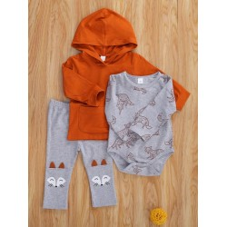 Casual Fox Φόρμα 3PCs