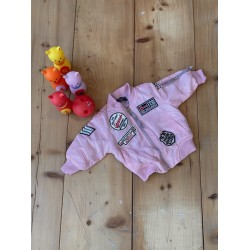 Pink Punk Jacket Back to 90s