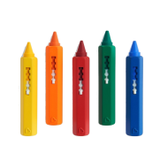 5 Bath Time Crayons