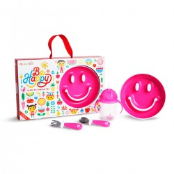 Be Happy Toddler Dining Set Pink
