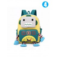 Cool Robot BackPack Canvas BacktoSchool