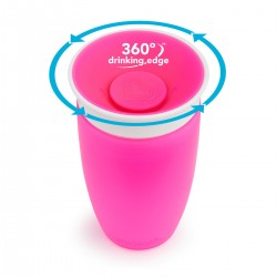 Miracle 360 Sippy Cup Pink