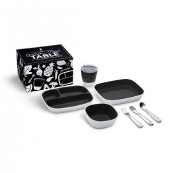 SPLASH DINING SET BLACK
